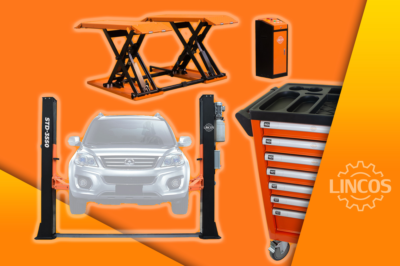 ea9d6ea3522f7 Lincos - kompresor, pneumatický uťahovák, vyzúvačka pneumatík, vyvažovacie  zariadenie, zdvihák, gola sada, autoservisné náradie